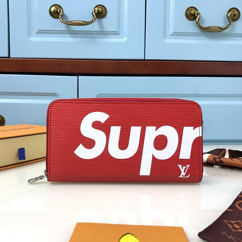 Supreme x Louis Vuitton Epi レザー財布 2色