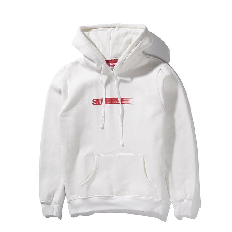 Supreme (シュプリーム) 15FW ボックス ロゴ フーデット スウェットシャツ パーカー(Box Logo Hooded Sweatshirt Pullover) ホワイト 001