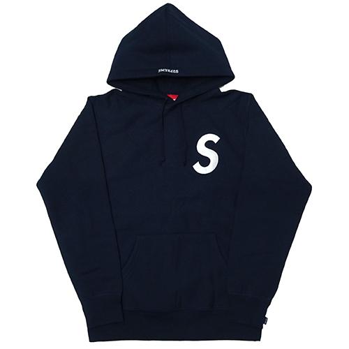 Supreme (シュプリーム) S Logo Hooded Sweatshirt ネイビー Navy