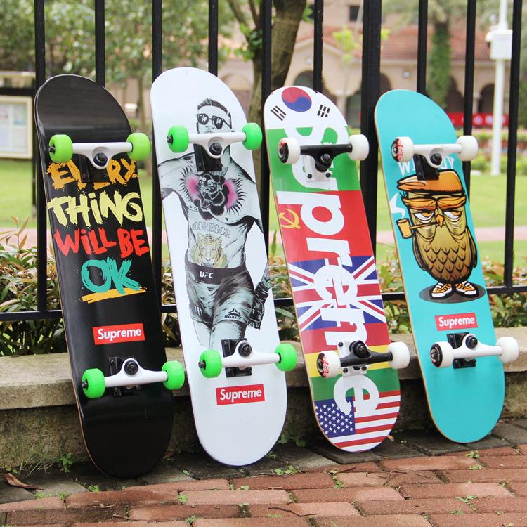 18FW Supreme Hip Hop Skateboard スケートボード