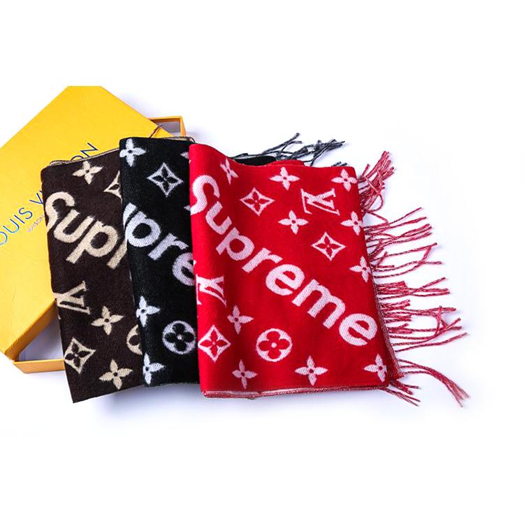 大人気ブランド Supreme X Louis Vuitton Monogram スカーフ 3色