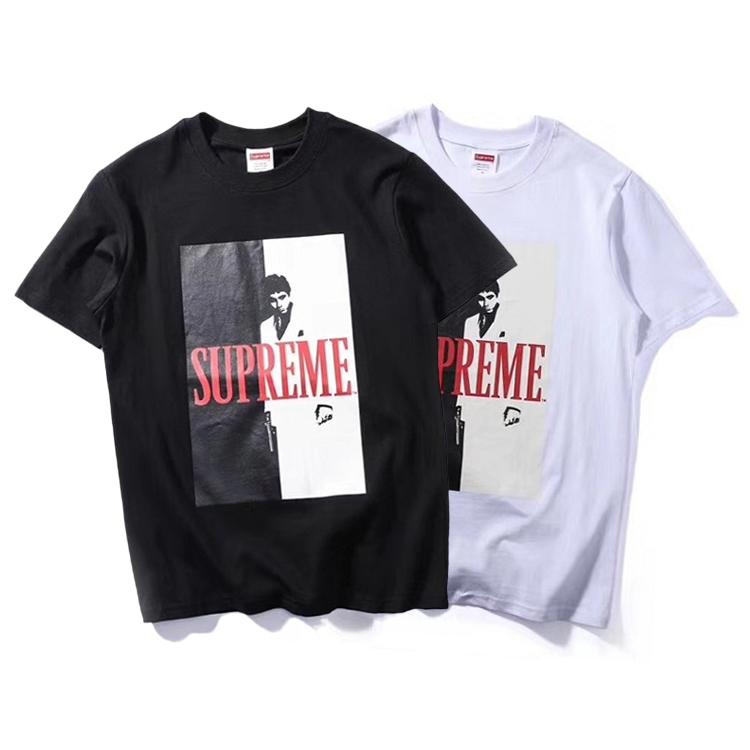 17FW Supreme (シュプリーム) Scarface Split Tシャツ 2色