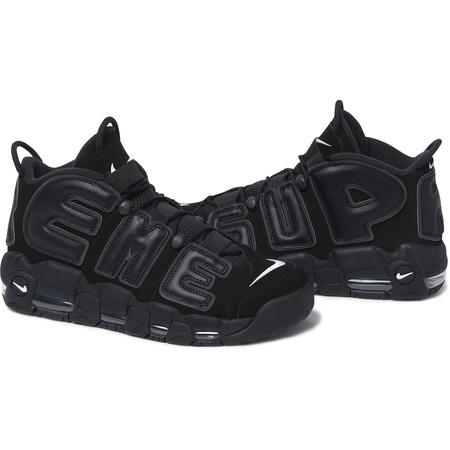 2017 新 Supreme x Nike Air More Uptempo 【ナイキ エア モア アップテンポ 】Black ブラック