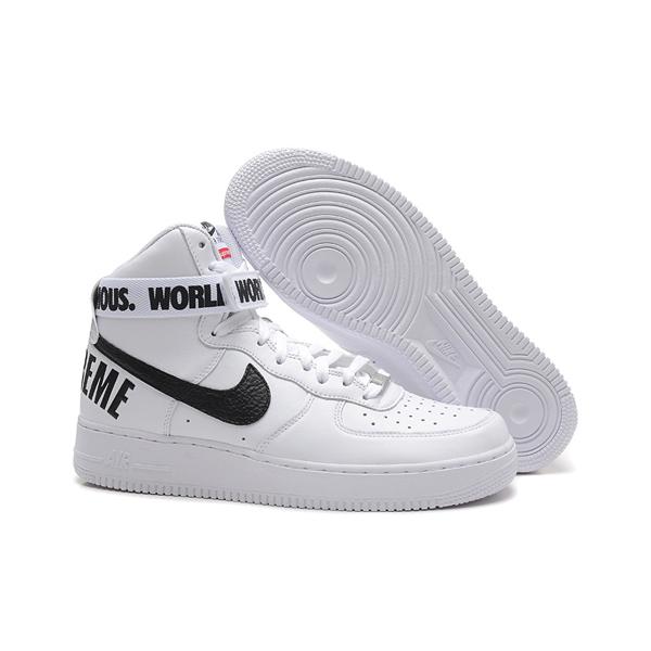 Supreme X Nike Air Force 1 High スニーカー White