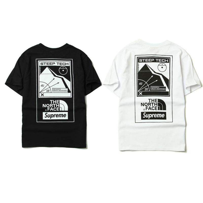 シュプリーム Supreme X The North Face Tシャツ 2 色