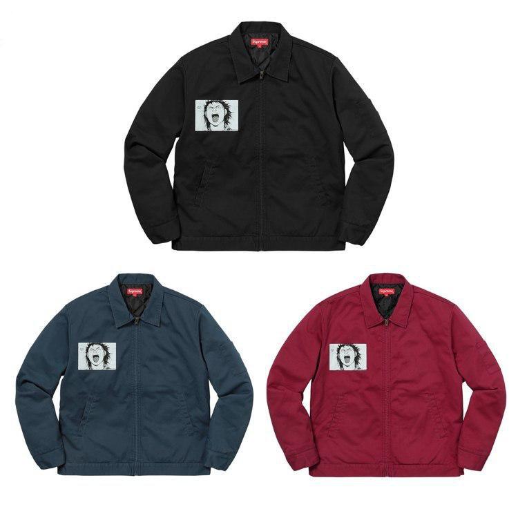 17FW Supreme X Akira Work Jacket ジャケット 3色