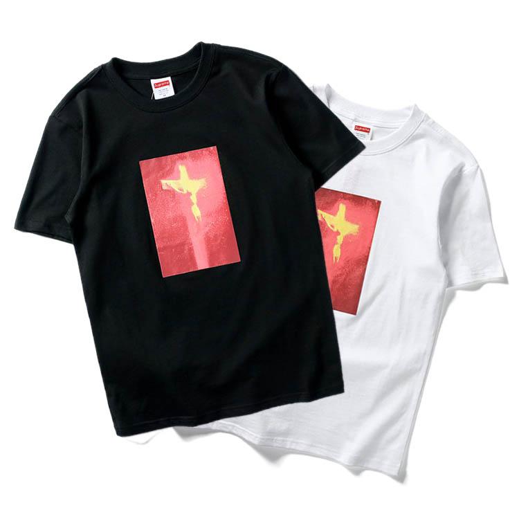 17FW Supreme (シュプリーム) Piss Christ Tシャツ 2色