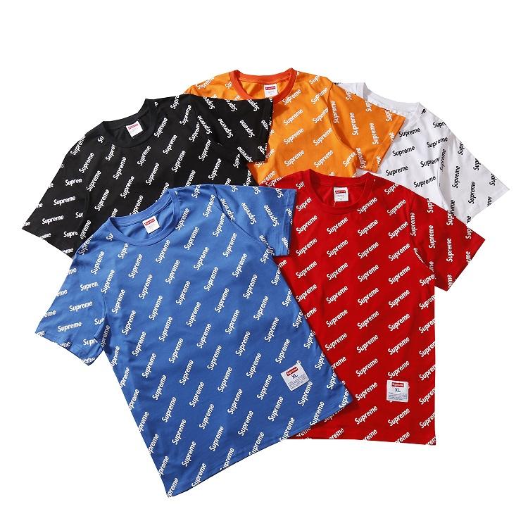 Supreme (シュプリーム) Diagonal Logo Tシャツ 5色