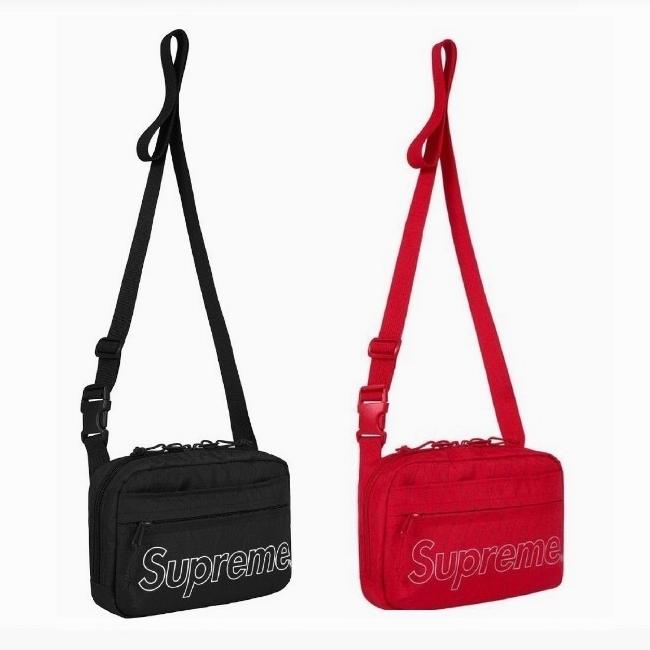 18FW Supreme (シュプリーム) Shoulder Bag バッグ 2色