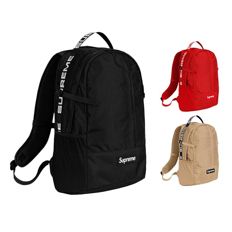 18SS Supreme (シュプリーム) 44th Backpack Box Logo バッグ 3色