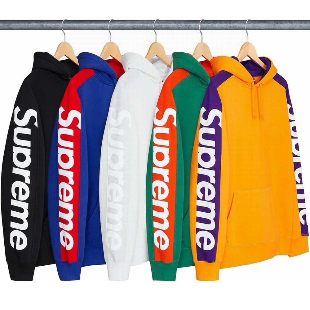 18SS Supreme (シュプリーム) Sideline フーデッド パーカー 5色